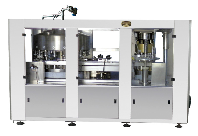 JQ4B250 Automatic filling and seaming unit