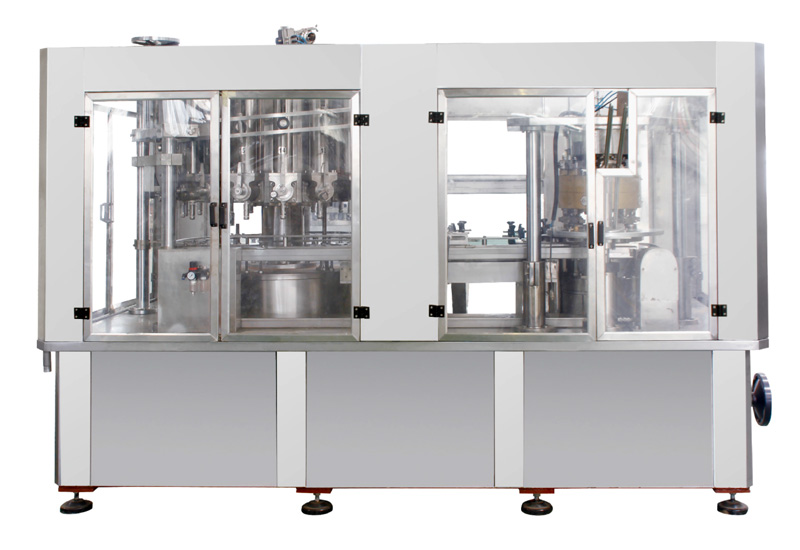 JQ7B18(12)A-250  concentrated filling and seaming integral machine